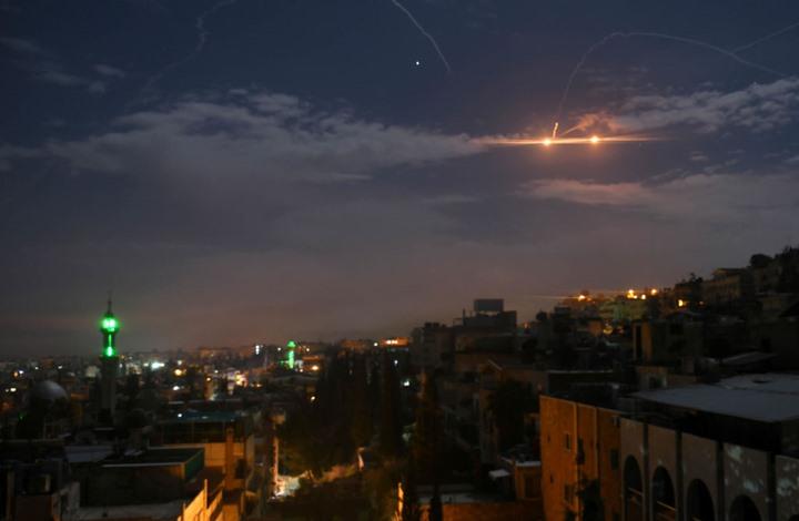 سوريا تعلن عن تصديها لهجوم صاروخي إسرائيلي بالجنوب