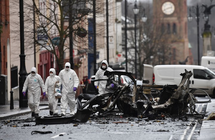 """""""بريكست"""" يوتر الأجواء الأمنية في إيرلندا الشمالية"""