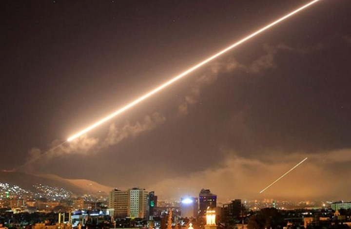 قصف إسرائيلي لأهداف بسوريا والنظام يعلن تصديه له (شاهد)