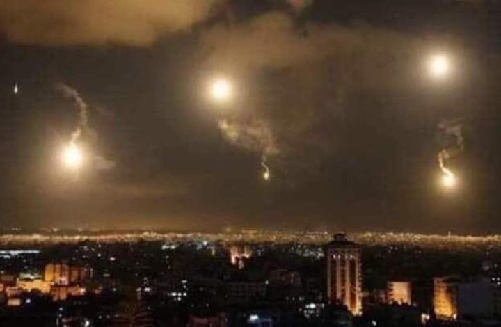 الاحتلال يعلن تنفيذ 50 ضربة جوية في سوريا خلال 2020