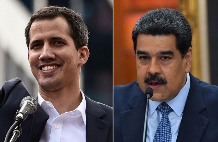غوايدو يحرّض ضد مادورو ويدعو أوروبا إلى تكثيف العقوبات