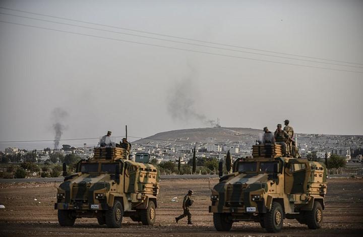"""هذه أماكن سيطرة قوات """"نبع السلام"""" منذ اليوم الأول (خريطة)"""