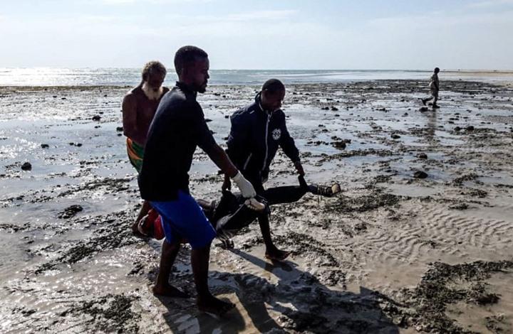 إلقاء عشرات المهاجرين في البحر قبل وصولهم لدول الخليج