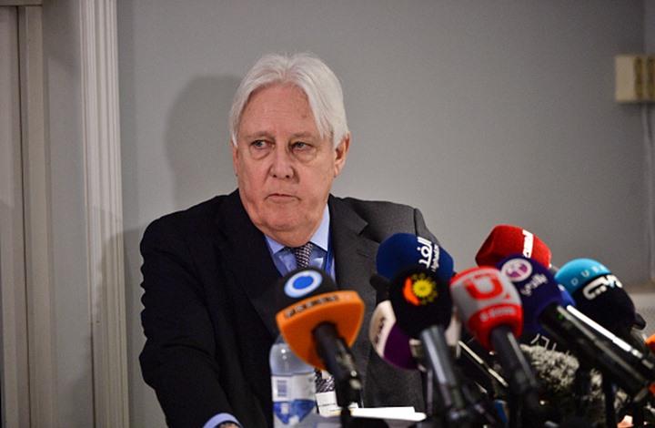 """غريفيث يحذر من تأثير """"بوادر الحرب"""" على الحل السياسي باليمن"""