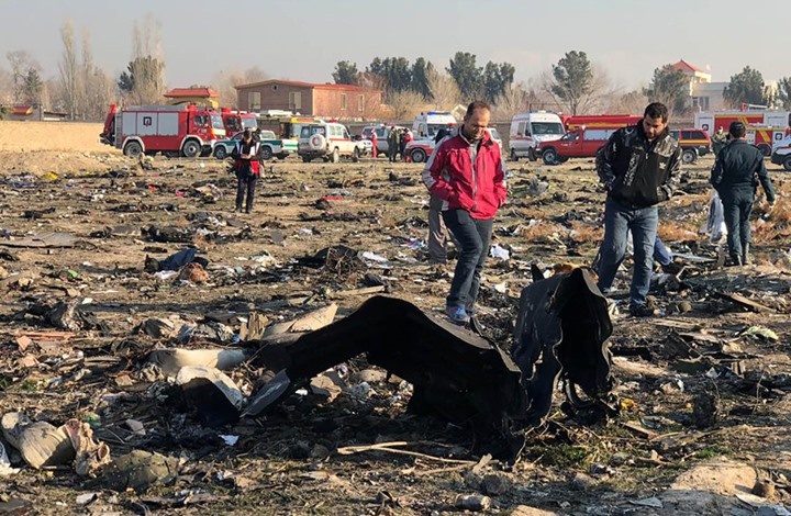 إيران: هذا سبب سقوط الطائرة الأوكرانية.. واعتقلنا 3 أشخاص