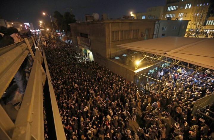 """""""الطائرة المنكوبة"""" تشعل غضب إيرانيين ضد النظام (شاهد)"""