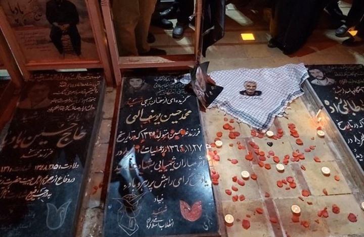 مشاهد للحظات دفن سليماني في كرمان الإيرانية (فيديو)