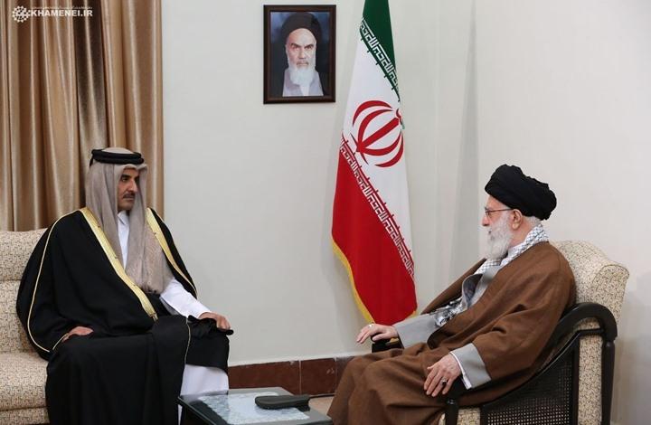 خامنئي لأمير قطر: هذا ما تريده إيران بعد مقتل سليماني