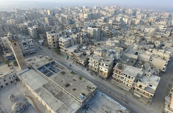 """""""مدينة أشباح"""".. معرة النعمان بعد سيطرة نظام الأسد عليها"""