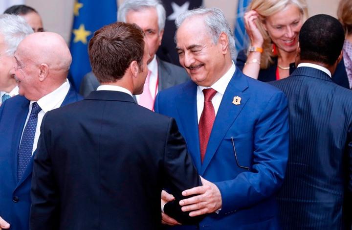 """تقارب فرنسا مع """"الوفاق"""".. تخلٍ عن حفتر أم محاولة لإنقاذه؟"""