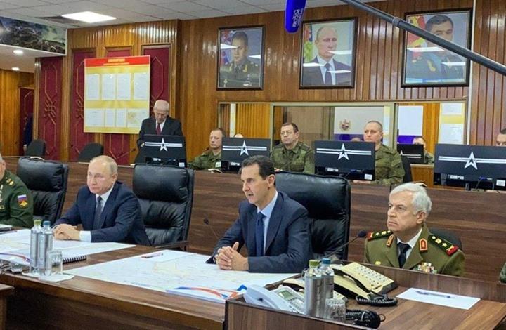 """سخرية من """"تقزيم"""" وزير الدفاع السوري في اجتماع مع بوتين"""