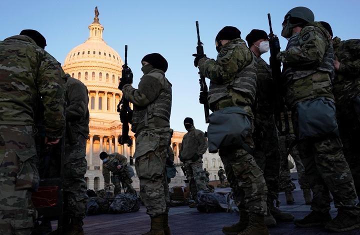 """معلومات استخبارية """"مقلقة"""" تشدد الحماية حول مبنى الكونغرس"""