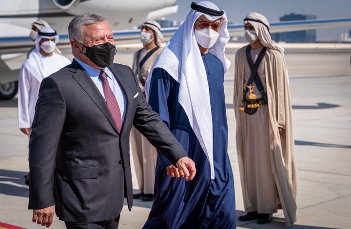 ملك الأردن يلتقي ابن زايد في أبوظبي.. والصفدي في الرياض