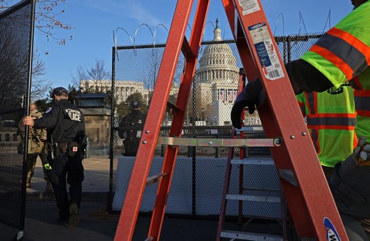 إغلاق مبنى الكونغرس الأمريكي مؤقتا بسبب حريق قريب
