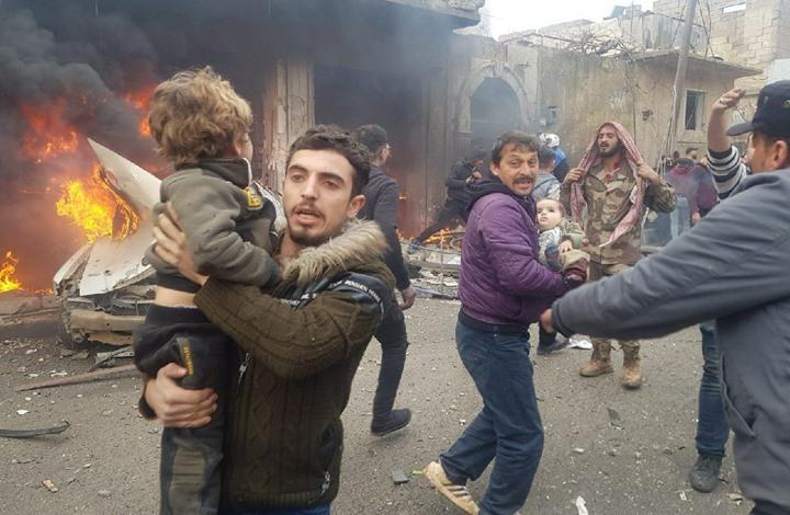 10 قتلى بتفجير في أعزاز السورية شمال حلب (شاهد)