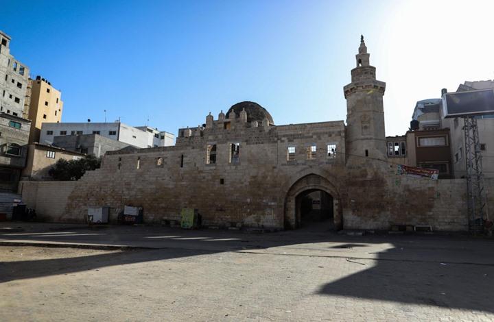 """""""قلعة برقوق"""" لا تزال شامخة تحمي خان يونس منذ 600 عام"""