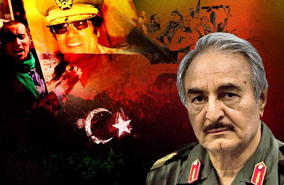 """حفتر يعلن الانقلاب عبر """"العربية"""" والجيش الليبي ينفي"""