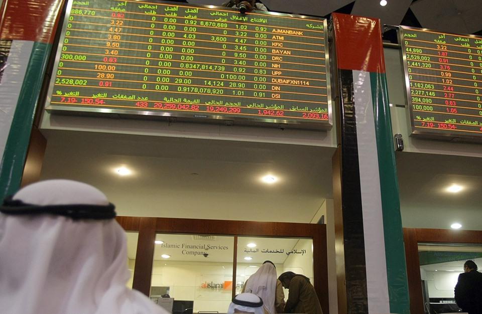 كم بلغت أرباح شركات بورصتي دبي وأبوظبي في تسعة أشهر ؟