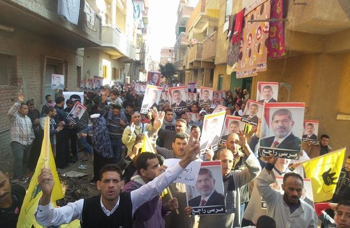 15 محافظة مصرية تشهد تظاهرات لرافضي الانقلاب العسكري