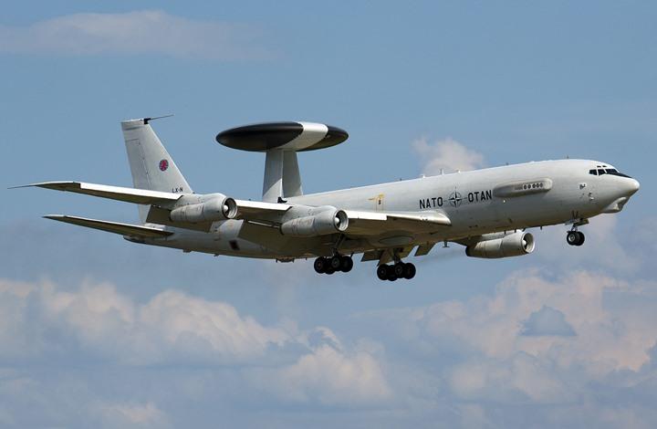 """صحيفة ألمانية: الناتو ينشر بتركيا طائرات إنذار مبكر """"أواكس"""""""