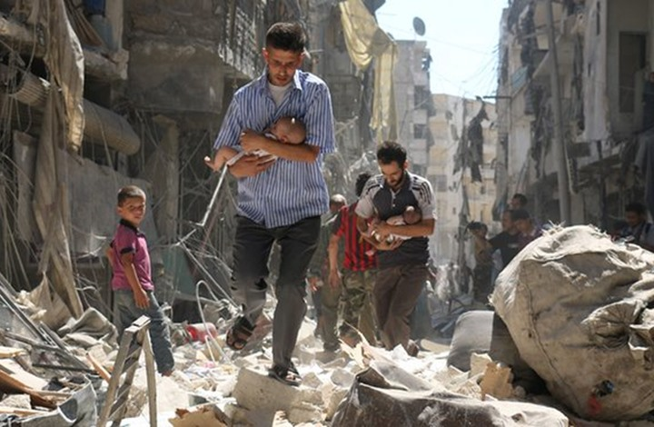 """شخصيات وكيانات مصرية تدعو لسرعة التدخل لإنقاذ """"حلب"""""""