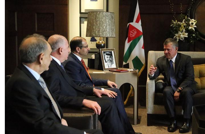 ماذا وراء اجتماع ملك الأردن بقادة بارزين من سنّة العراق؟