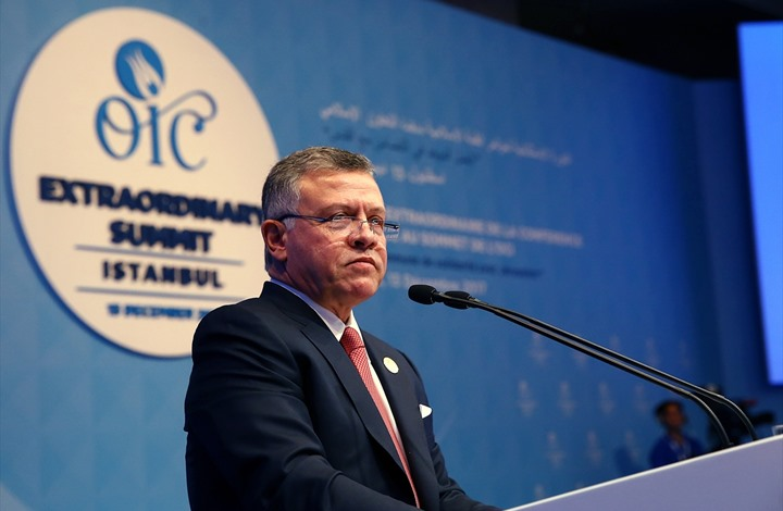 ملك الأردن يحذر من آثار قرار ترامب ويؤكد دور بلاده (فيديو)