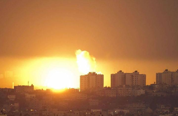 رغم إعلان التهدئة.. غارات إسرائيلية على غزة والمقاومة ترد