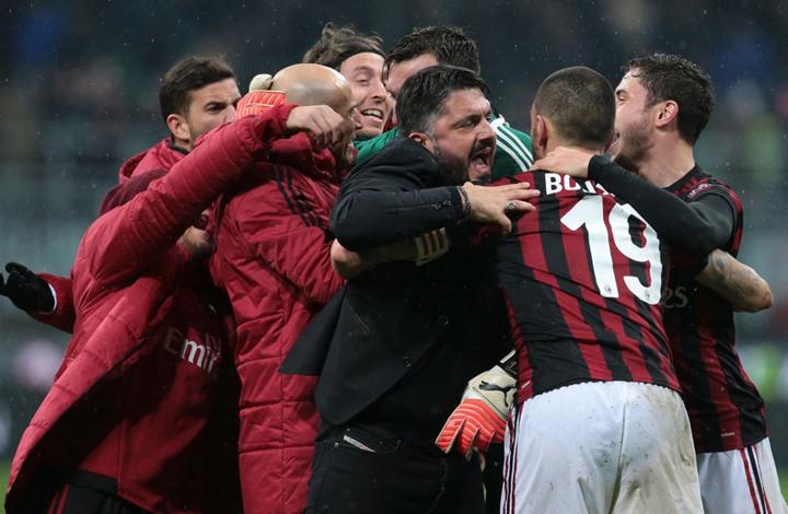 ميلان يقصي الإنتر من كأس إيطاليا بالوقت القاتل (شاهد)