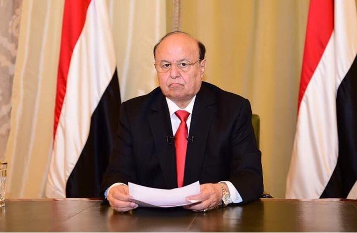 هادي يعزي بمقتل صالح ويدعو اليمنيين للانتفاض