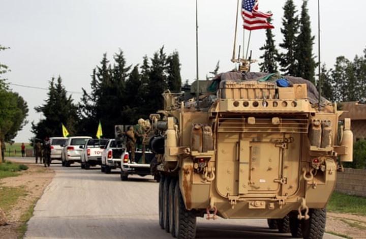 دوريات أمريكية شمال شرق سوريا على مرأى من قوات النظام