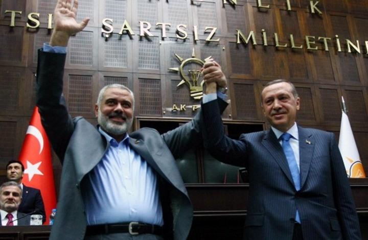 """حماس ترد على أنباء نشرتها """"التايمز"""" عن علاقتها مع تركيا"""