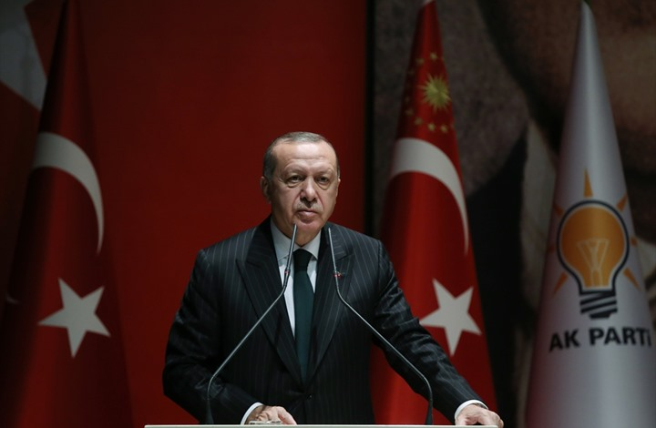 أردوغان: أَمل التوصّل لحل للأزمة السورية بات قريب المنال