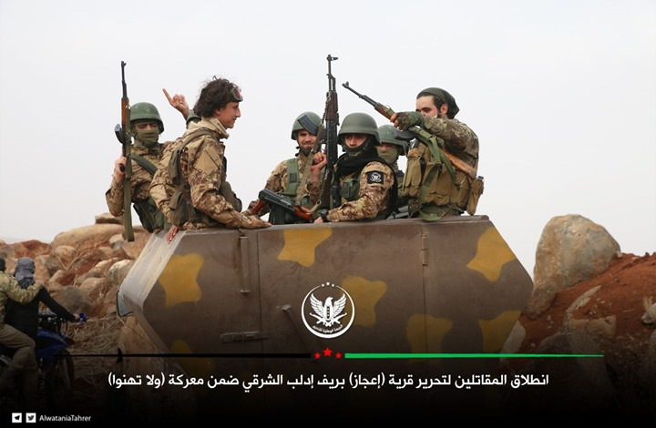 اشتباكات عنيفة بين المعارضة ونظام الأسد بريف إدلب (شاهد)