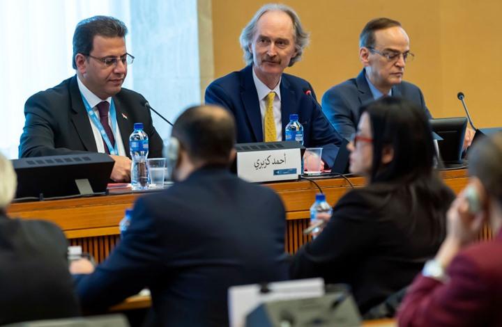 انطلاق الجولة الرابعة لاجتماعات لجنة الدستور السوري بجنيف
