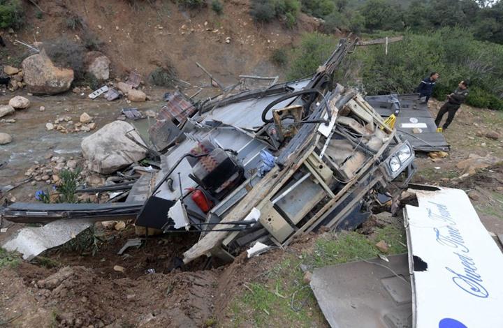 حادث سير بالكاميرون يودي بحياة 53 شخصا احتراقا