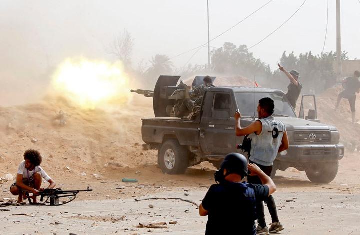 رغم قرار مجلس الأمن.. حفتر يهاجم جنوب طرابلس والوفاق تتصدى