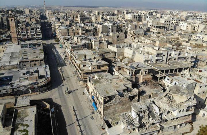 النظام السوري يتقدم بحلب وإدلب ويقتحم شرق معرة النعمان