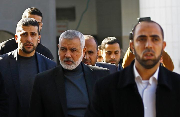"""هنية يلتقي وزير مخابرات مصر ووفد """"الجهاد"""" يصل القاهرة"""
