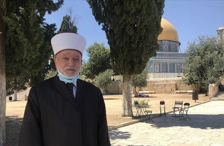 """مفتي القدس يدعو لدعم """"أسبوع الأقصى"""": الدفاع عنه واجب"""