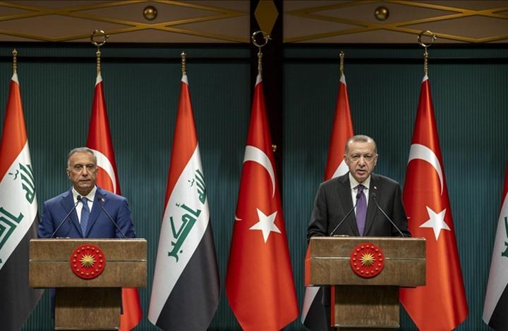 أردوغان يعلن دعمه للعراق.. والكاظمي: تركيا شريك حقيقي
