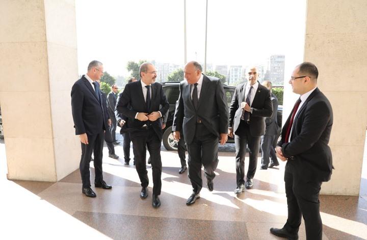 قمة لوزراء خارجية مصر والأردن وفلسطين في القاهرة