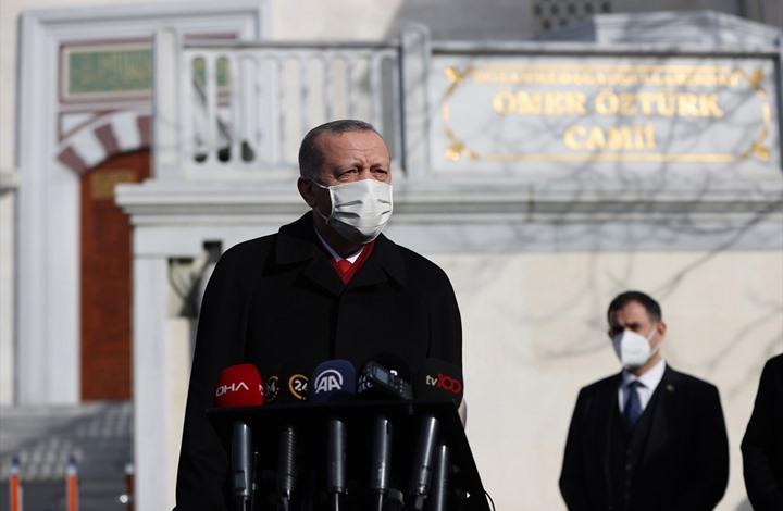 أردوغان ينفي أي تقارب مع الاحتلال.. ويوضح أسباب الخلاف
