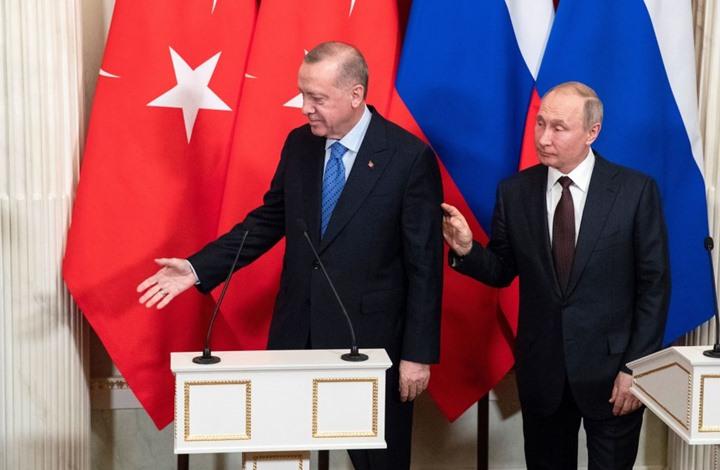 اتصال بين أردوغان وبوتين قبيل زيارة رئيس أوكرانيا لتركيا