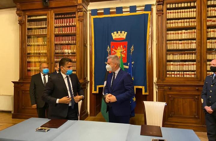 اتفاقية تعاون عسكري بين ليبيا وإيطاليا.. هذه تفاصيلها