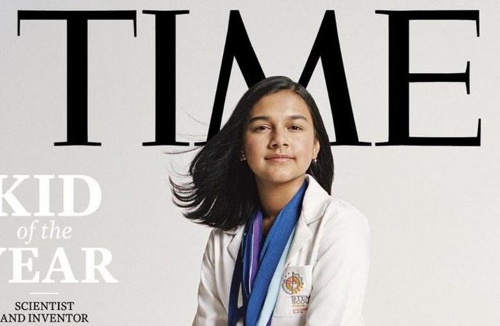"""""""التايم"""" تمنح أول لقب """"طفل العالم"""" لمراهقة تبلغ 15 عاما"""