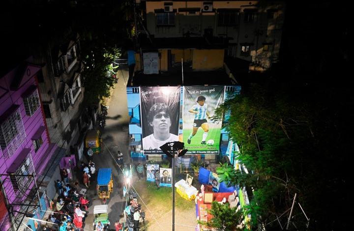صور المنزل الذي توفي فيه مارادونا تثير جدلا (شاهد)