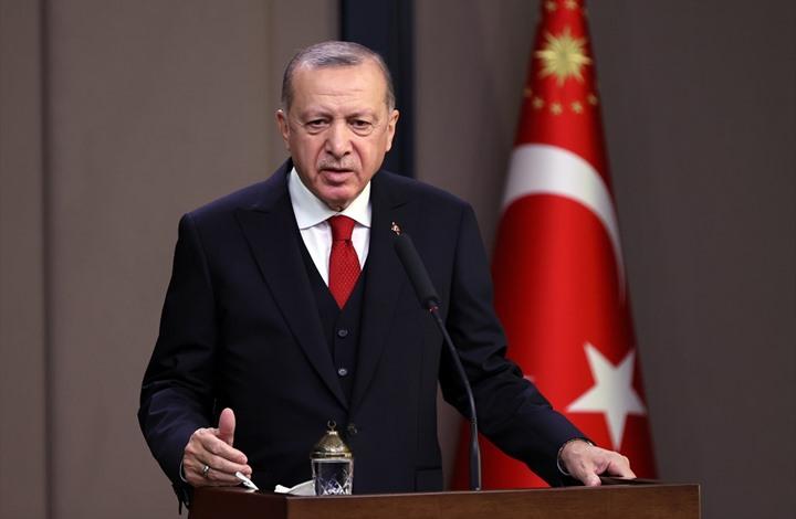 أردوغان: نأمل بفتح صفحة جديدة مع أوروبا وأمريكا عام 2021