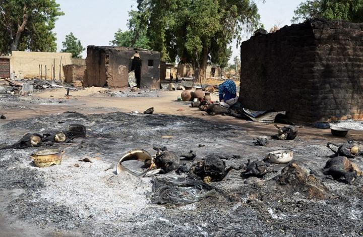 العفو الدولية: جيش نيجريا هجّر 3 قرى خلال معارك مع مسلحين