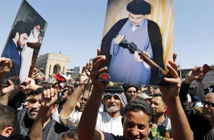 أنصار الصدر يخرجون باحتجاج صامت في بغداد